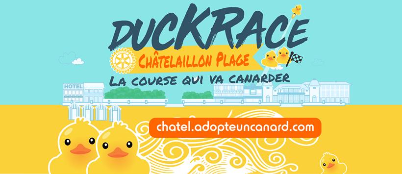 Duckrace : adoptez un canard !