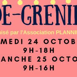 Vide greniers les 24 et 25 octobre 2020 à La Rochelle